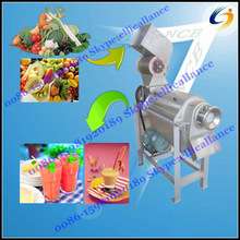 Spiral Fruit Juice Crusher and Extractor Machine for Apple ,Melon ,Orange,Sugarcane