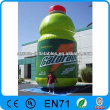 inflatable advertising bottle balloon/advertising model