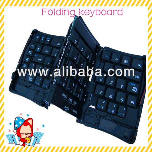 2013 New Folding Bluetooth Keyboard For Ipad,Mini Bluetooth Keyboard