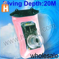 Pink 20M Universal Waterproof Camera Case