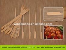 Decorativa plana de bambú palo de venta al por mayor