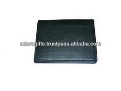 business credit card holder case / simple design leather cardholder / personalized business card holder