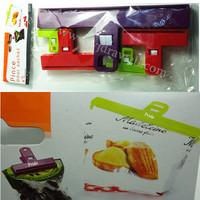 MC-3442 5-Piece plastic food bag clip/Bag Clips