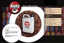 Andy coffee Tanikka canister italian coffee