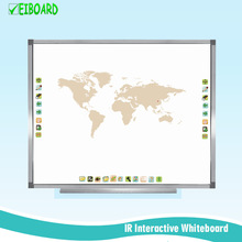 Anti-Glare IR Interactive Whiteboard Equiped With Projector for Meeting