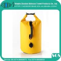 China manufacture promotional custom logo waterproof nylon dry bag ocean pack super floating dry bag