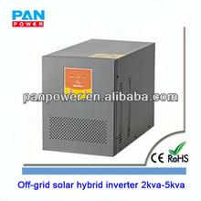 LED LCD low frequency solar off grid wind hybrid inverter sine wave