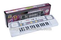 37 keys musical toys for kids 2013