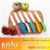 2013 New design colorful kitchen ceramic knife set