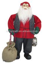 Christmas Decorative Life Size Stuffed Santa