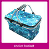 Insulation Thermal Blue Carry Basket Storage