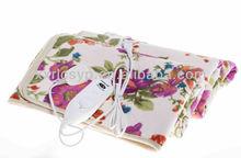 Double Heated Electric Blanket Twin New Overheat Protection Comfort Fleece Heating Blanket Auto Shut Off 220V CE