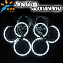 ccfl led angel eye head lamp for reiz,ccfl car lights long lifetime for t reiz