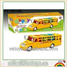 Universal de plástico del autobús escolar del juguete con la luz y la música