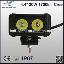 """High quality 9-30v 4.5"""" 1700lm 20w cree skoda octavia led headlight"""