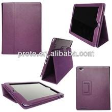 leather case for ipad mini 2 case black with sleep-wake up function