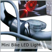 2 in 1 Mini LED Bicycle Bike Safety Flashing Light Lamp New