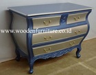 Chest of Drawers Wooden Commode Antique Reproduction Bombay Chest Vintage Cabinet European Home Furniture French Style Bed Room