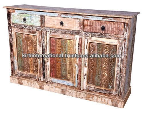 Reclaimed Teak Wood Furniture Tv Cabinet Buy Vintage