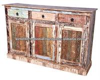 Reclaimed Teak wood Furniture TV cabinet