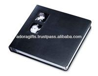 ADAPAC - 0050 custom leather wedding photo album case/ a4 photo album with high quality/ wholesale customized photo album cover