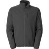 Breathable waterproof fleece bonded softshell jacket