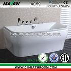 luxury indoor whirlpool tub