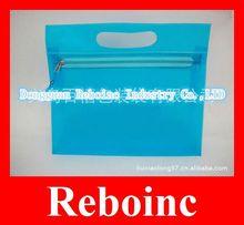 2012 Hot sales clear pvc document case with zipper closure Reboinc-S290