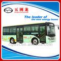 wuzhoulong piso plano de gas natural de la ciudad de autobús
