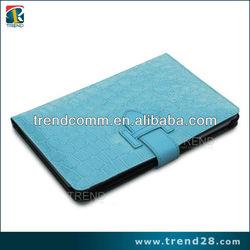 2014 wholesale Alligator Pattern leather phone case for ipad mini