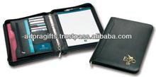 ADACF - 0074 new design office file folders / fashion leather a4 folder organizer / spring clip leather file folder
