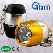 6led metal emergency torch light