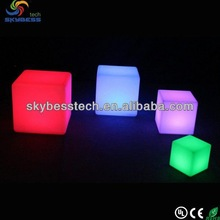 Skybess 20cm flashing led ice cube with lighting