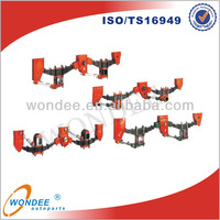 Fuwa Type Mechanical Suspension 2 axle for Trailer