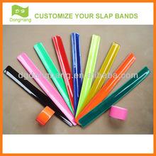 Eco-friendly reflective slap bands