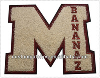 Cheap Custom Chenille Letters
