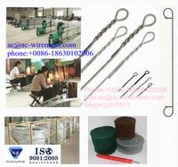 small coil Double Loop tie Wire Ties/loop tie wire/double loop tie wire