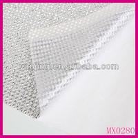 Wonderful crystal mesh fabric rhinestone crystal rhinestone sew on strip mesh
