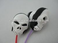 MP3 MP4 skull earphone