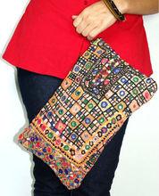 girls tribal clutch bag bohemian gypsy purse bags