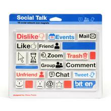 Social Talk Magnets, Fun Magnets