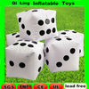 inflatable dice paintball bunkers for laser tag game