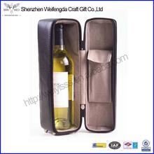 Factoty Wholesale Handmade Fashion Leather Wine Bag