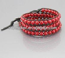 One direction 3 row cz bracelets