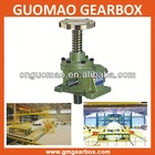 2014 worm electric transmission gearbox jack with base plate