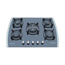 Vidrio templado de 5 quemadores cocina de gas / hornillos de gas WJ5-G7511