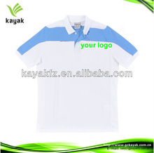 high quakity 100% cotton Poloshirt Children with your logo embroidery or printed polo shirts school uniform