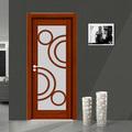 interior de alta qualidade de madeira da porta da pele