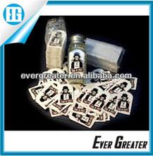 Waterproof bottle labels Salt and Pepper Stickers bottle stickers