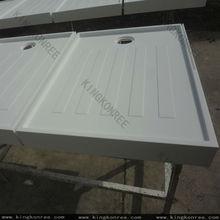 acrylic display base tray/ acrylic marble display base